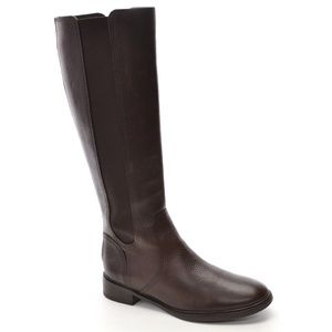 Tory Burch Christy Leather Riding Boots size 8